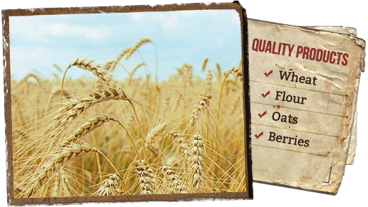 Quality Products - Wheat, Flower, Oats, Berries