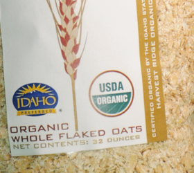 Organic Whole Flaked Oats